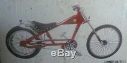 Schwinn Stingray Orange County Choppers OCC 20 Red Bike. New in Box