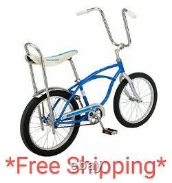 Schwinn Stingray Sting Ray bike 20 BLUE New 125th Edition New in box