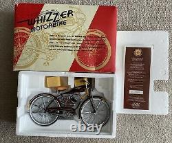 Schwinn Whizzer Motorbike Bicycle 16 Scale Model Xonex In Box