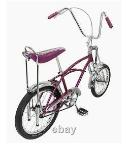 Schwinn stingray bicycle new in box grape krate NEW