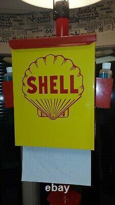 Shell Oil 1950s Gas Oil Station Towel Box Dispenser New