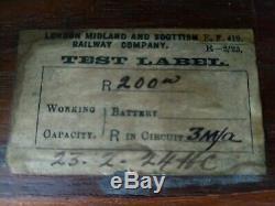 Signal Box Block Instrument 1924 London Midland and Scottish Railway