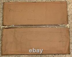 Southern Railway Maintenance Limit Railroad Sign New Old Stock in Original Box