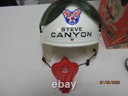 Steve Canyon Jet Helmet In The Box