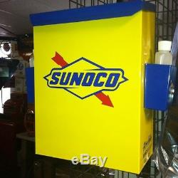 Sunoco 1950s Gas Oil Station Towel Box Dispenser New