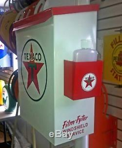 Texaco 1950s Gas Oil Station Towel Box Dispenser New