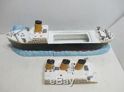 Titanic Cookie Jar 1998 Enesco New in Box