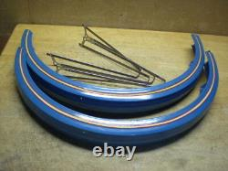 Total RAT ROD Bicycle Boxed Aluminum Fender Set Full Front and Rear With Braces