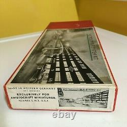 True Nos Aristocraft Eheim Trolley Bus System Set In Red. Complete/working/boxed