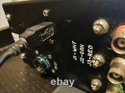USB, rewired Aircraft Control Panel Flight Sim Controller Button Box works w PC