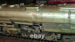 Union Pacific 4-6-6-4 Challenger Nice In Box UP Rare Sunset Models S Scale Brass