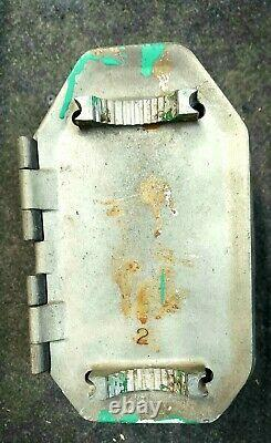 VERY RARE 1940's Vintage Curb Cop parking meter fine box with no cracks
