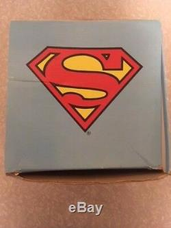 VINTAGE SUPERMAN (1987) DESKTOP LAMP With BOX, EXCELLENT WORKING CONDITION