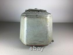 Very RARE, original Curb-Cop. Parking Meter Fine Box 1940s, Decatur, Alabama