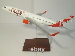 Very Rare Pacmin Air Canada Rouge Business Class Airplane Model Jet In Box