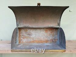 Veteran Car Running Board Solid Brass Tool Battery Box Bentley Steam Engine