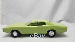 Vintage DEALER PROMO MPC 1973 Dodge Charger mist green ORIGINAL BOX