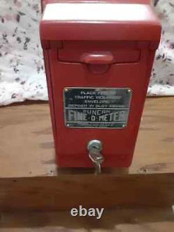 Vintage Duncan Parking Fine-O-Meter Fine Box Cleaned and Repainted