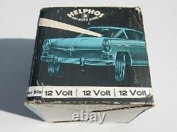 Vintage German 12V Helphos Boxed Rally Lamp Search Light Spot Light