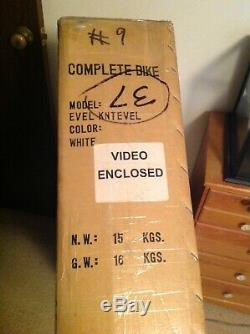 Vintage Hoffman Evel Knievel Bicycle New in Original Box Limited Edition #9