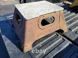 Vintage New York Central System Railroad Train Conductors Box Step Stool Nyc
