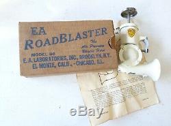Vintage Prewar Ea Road Blaster Bicycle Push Horn In Box Nos