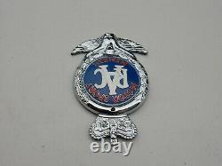 Vintage Rare Boxed Unused RAC Motor Sport Member Car Badge Auto Emblem