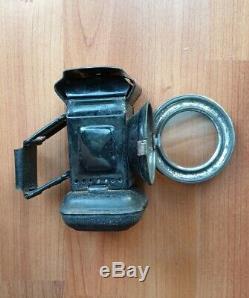 Vintage Three Star Paraffin Oil Bicycle Cycle Lamp Light unused in original box