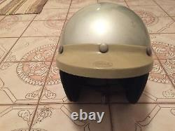 Vtg Motorcycle Helmet Bell Super Magnum Racing With Box Sz 7 1/2 5/8
